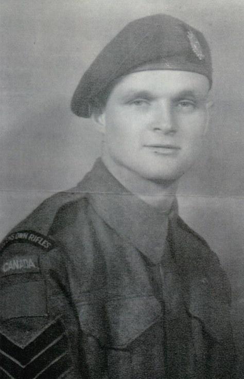 Sgt Aubrey Cousins VC - QOR Museum Photo