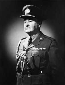 Colonel Baptist Johnson, OBE. VD