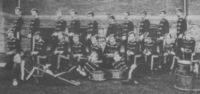 Upper Canada College Cadets 1893