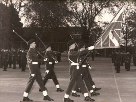 2217 Riverdale Collegiate Cadet Corps Flag Party, 16 May 1957