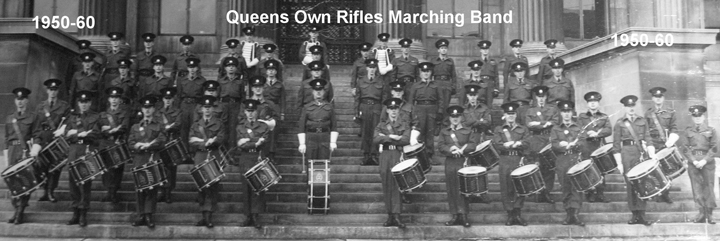 Queen's Own Rifles Band sometime in the 1950/60s