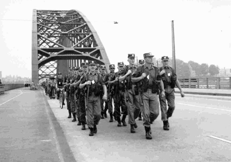 1961 circa Nijmegen March