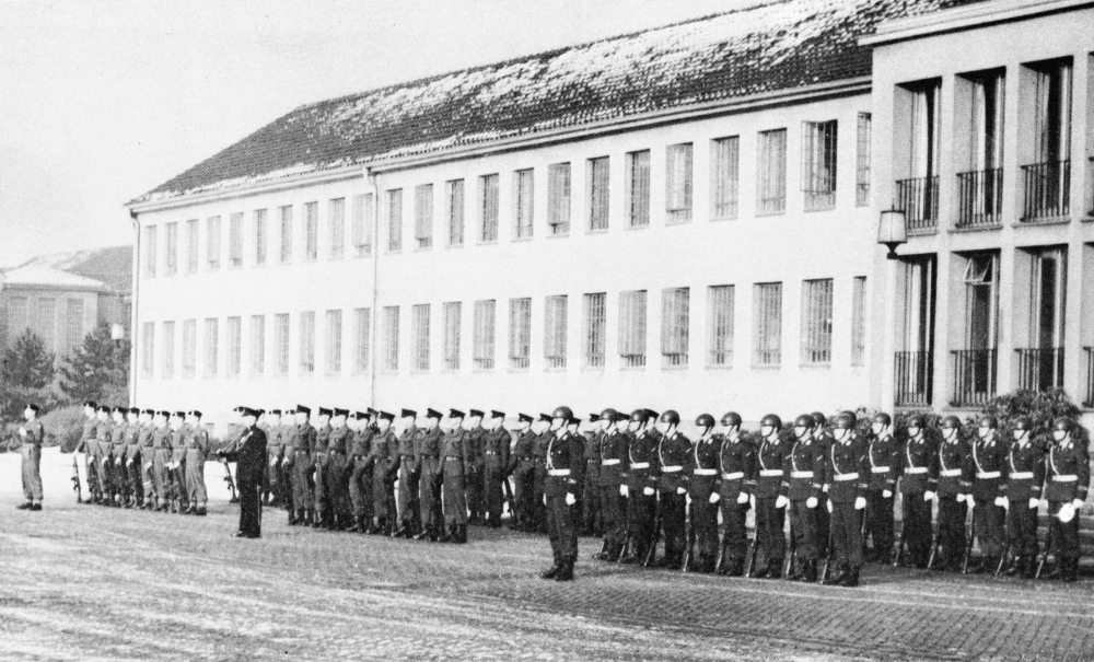 1963 Guard of Honour for Supreme Allied Commander visit