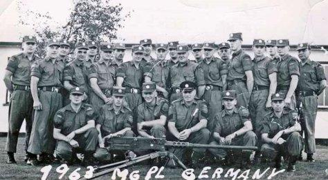 1963 Machine Gun Platoon B-Budgell