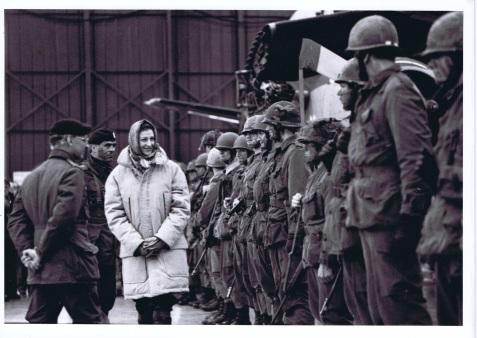 CinC Princess Alexandria inspects 3rd Battalion QOR