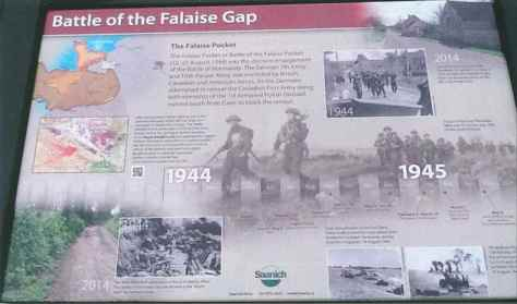 Falaise Gap Sign