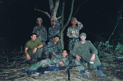 Gurkha's with David harmes 2
