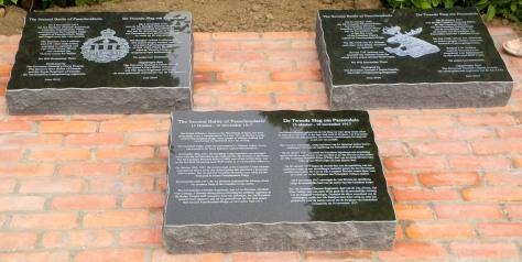 Passchendaele Memorial - 2014
