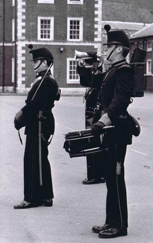 QOR Skirmisher Officer and Bugler