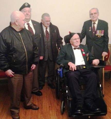 WWI Veterans received Legion of Honour