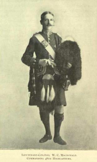 Colonel William Campbell Macdonald