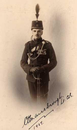 Lieutenant Colonel C. C. Wansbrough, DSO, VD