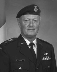 Major General John L. Sharpe CMM, CD