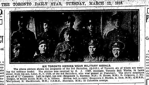 March 12, 1918 Toronto Daily Star
