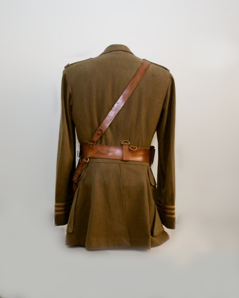 255th Major's First World War Service Dress Tunic (Back)