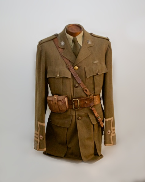 255th Major's First World War Service Dress Tunic (Front)