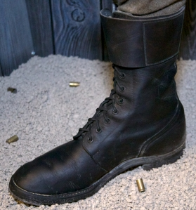 Invasion Boots or High Boots - QOR Museum's Collection