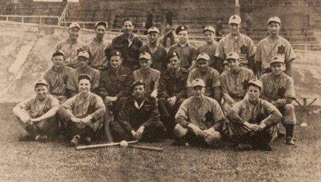 The Queen's Own Rifles of Canada Baseball Team September 1945