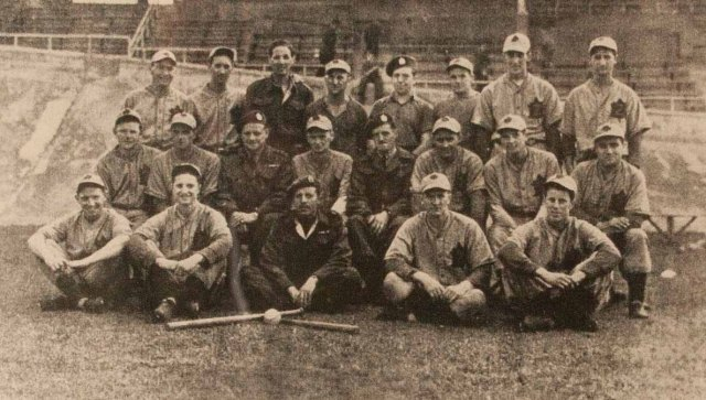 The Queen's Own Rifles of Canada Baseball Team September 1945
