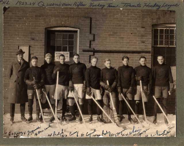 1923-1924 QOR Hockey Team