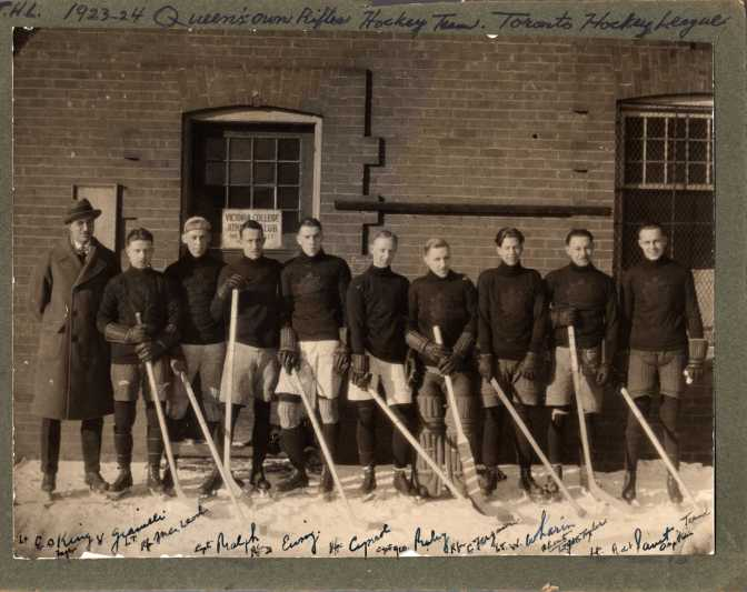 1923-1924 QOR Hockey Team