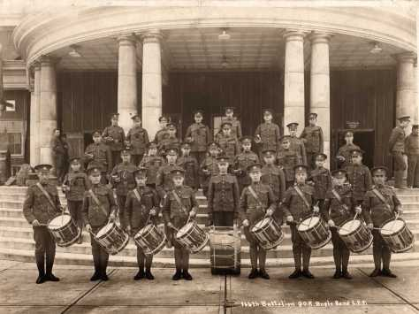 166th Bn CEF Bugle Band