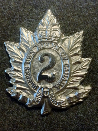 QOR cap badge 1940