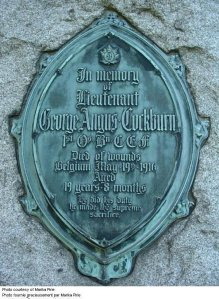 Cockburn, George Angus Mt Pl Plaque