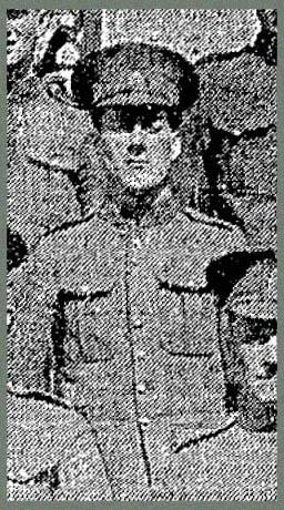 Corporal Leslie Frank Haider