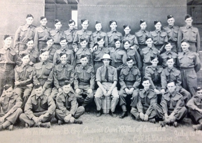 QOR in Sussex, New Brunswick 1940