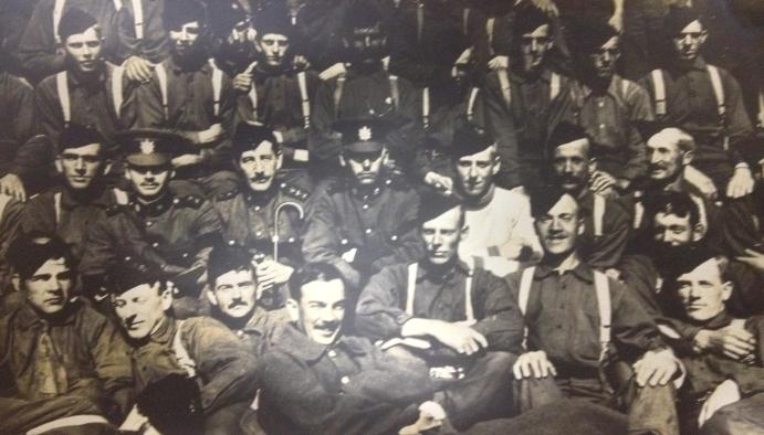 QOR England 1910