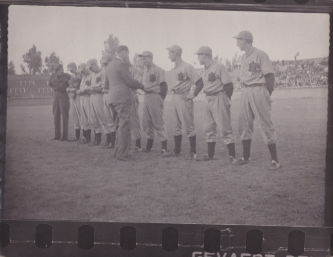 More 1945 QOR Baseball Photos