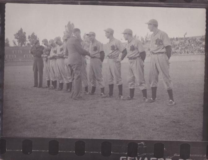 More 1945 QOR Baseball Photos