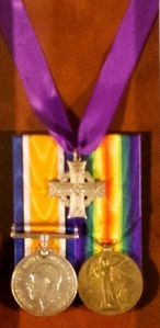 Medals and Silver Cross for CSM Lawrence D. Pridham