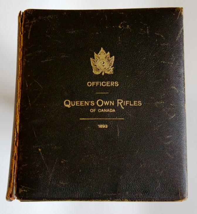 1893 Officers' Photo Album