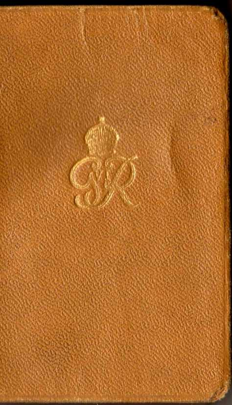 Lance Corporal Rolph Jackson's New Testament