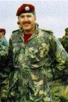 Master Warrant Officer Bruce Bamlett, CD