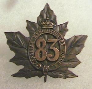 83rd Battalion Badge