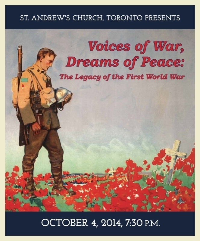 Voices of War, Dreams of Peace: The Legacy of the First World War
