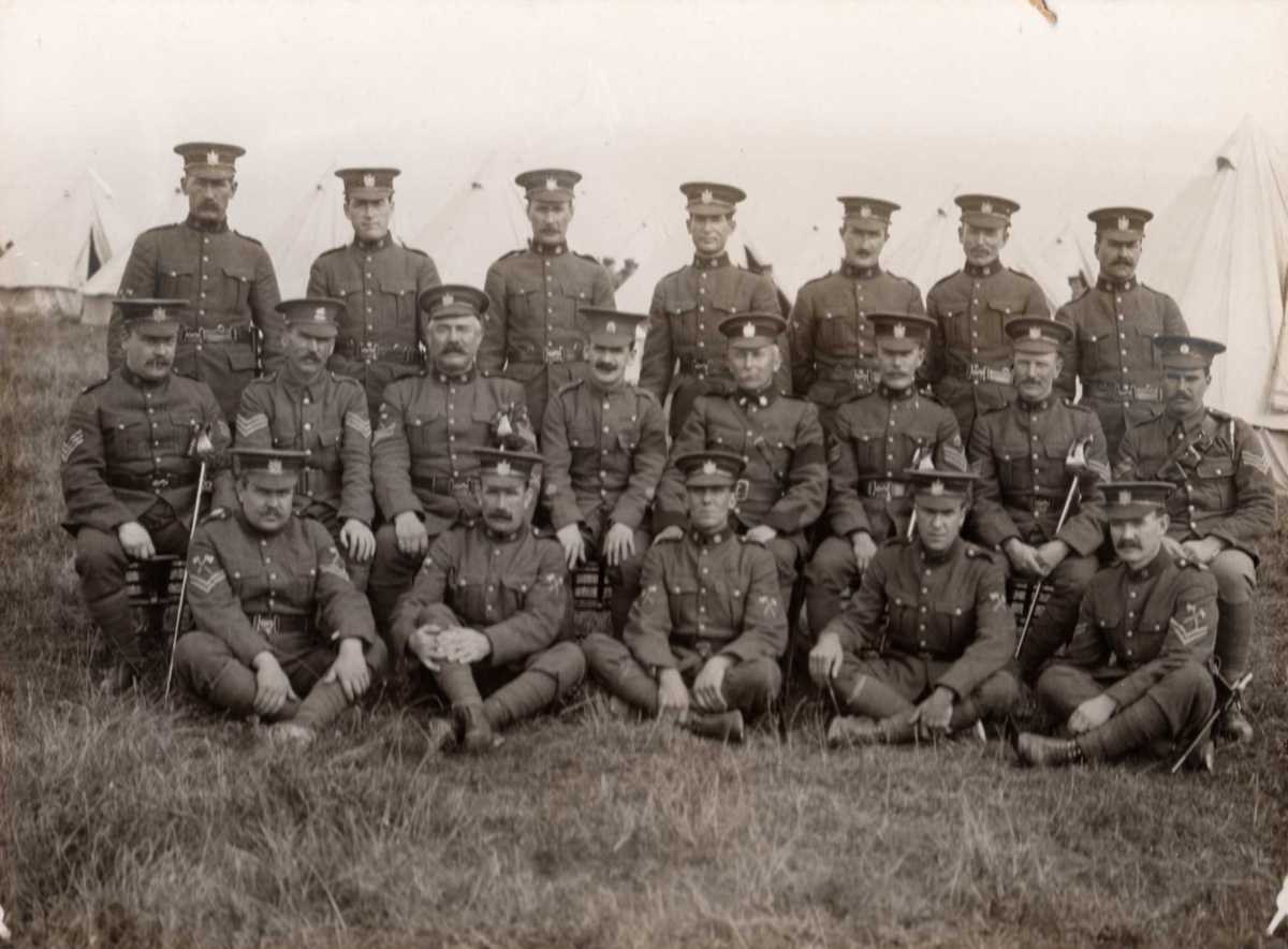 1910 the queen u0027s own rifles of canada regimental museum and archives