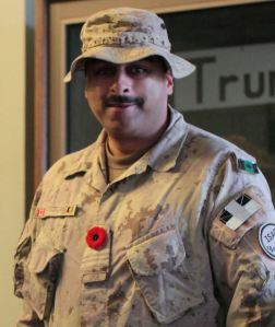 Lieutenant Colonel Sandi Banerjee, CD