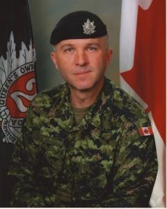 Lieutenant Colonel John Fotheringham, CD