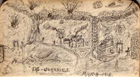 The Quarries Mar-8-1918 [page 76]