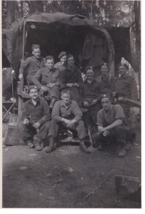 La Capell back of truck 12 Sept 1944