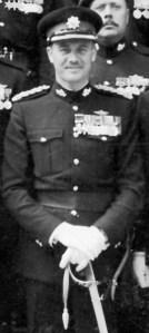 Major Richard Dillon Medland, DSO, CD with Royal Canadian Regiment