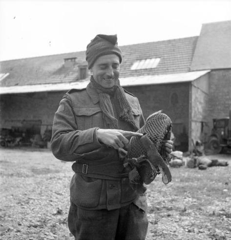 Rfn RA Marshall German sniper bullet on dday bretteville-Orgueilleuse 20 June 44
