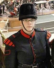 Director of Music, Lieutenant Megan Hodge