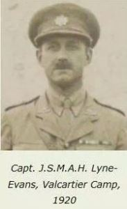 Brevet Major Josiah Lyne-Evans, MC