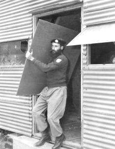 Seen here is an Acting Corporal during the Deployment to Korea in 1955