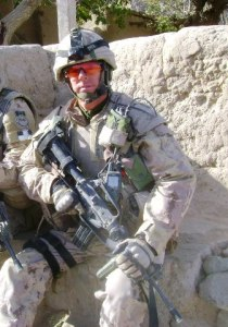 CWO Mark Shannon , CD in Afghanistan